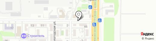 Сельпо на карте Саратова
