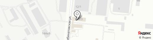 Физкультурно-оздоровительный комплекс при Спецстрое России на карте Саратова