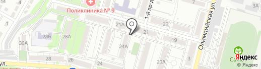 Продтрейд на карте Саратова