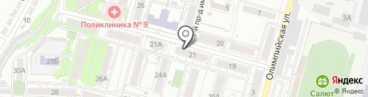 Марксовский пивзавод на карте Саратова
