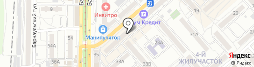 Победа на карте Саратова