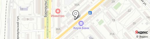 Мобилком на карте Саратова