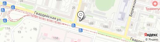 Мясная копейка на карте Саратова