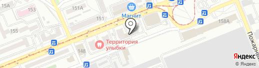 Продукты из Казахстана на карте Саратова