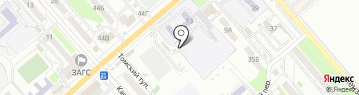 Служба эвакуации на карте Саратова