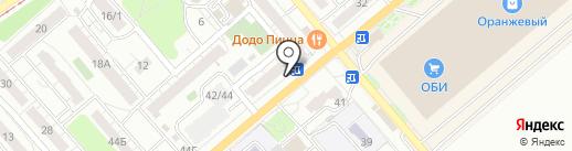 Магазин колбасных изделий на карте Саратова