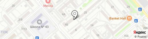 Виктория на карте Саратова
