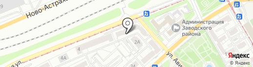 Российская академия транспорта на карте Саратова