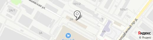 Фаворит на карте Саратова