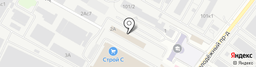 Перетяжкино на карте Саратова