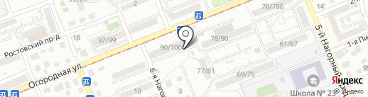 Магазин товаров для дома на карте Саратова