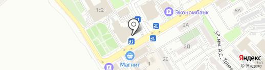 Заводской экспресс на карте Саратова