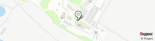 Автотехник на карте Саратова
