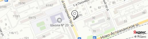Киоск по продаже куриного мяса на карте Саратова