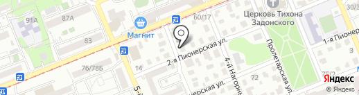 Кафе фастфудной продукции на карте Саратова