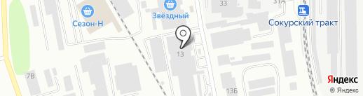 Самовар на карте Саратова