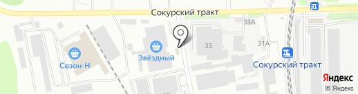 Восток-Сервис-Поволжье на карте Саратова
