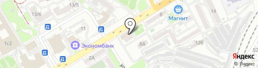 Спецмебель на карте Саратова