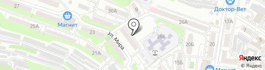 Здоровенок на карте Саратова