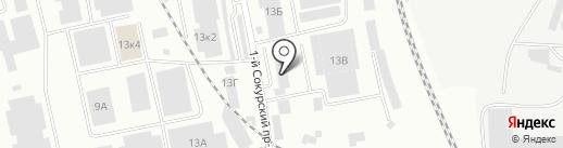 Сладкий Город на карте Саратова