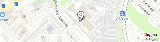 Воротные системы на карте Саратова