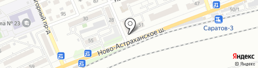 Кузов маркет на карте Саратова