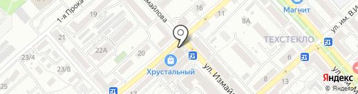 Пиксель на карте Саратова