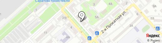 Буфетная на карте Саратова