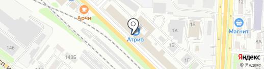 Магазин детской одежды на карте Саратова