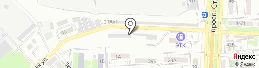 Автожелезка-Авторазборка на карте Саратова