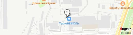 ТехноНИКОЛЬ на карте Саратова