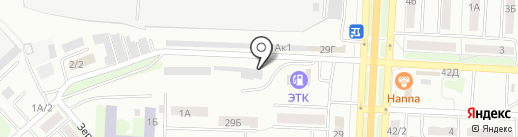 Имидж Авто на карте Саратова