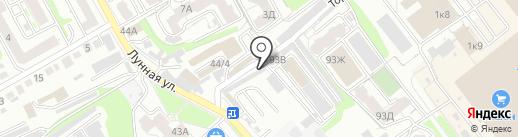 Центурион-Саратов на карте Саратова