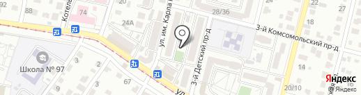 Сурхан на карте Саратова