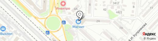 Копировальный салон на карте Саратова