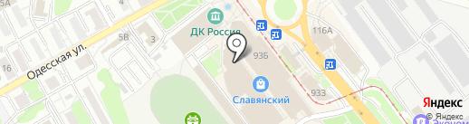 Кокетка на карте Саратова