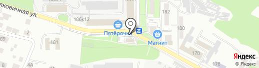 Магазин цветов на карте Саратова