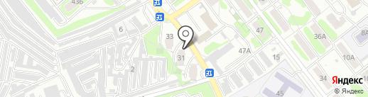 Служба деликатных переездов на карте Саратова