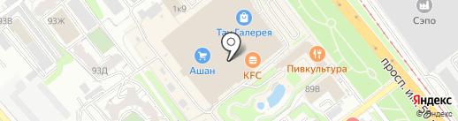 Тир на карте Саратова
