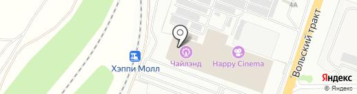 Дрифтинг на карте Саратова