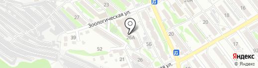 Гермес-98 на карте Саратова