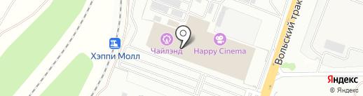 Organic city на карте Саратова