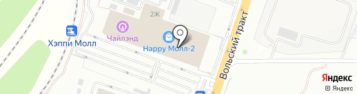 МИТ BOS на карте Саратова