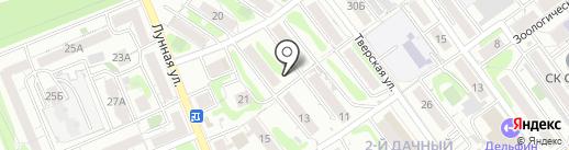 Деви на карте Саратова
