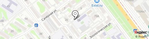 Саратовский городской психоневрологический диспансер на карте Саратова