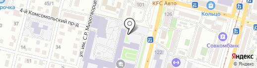 Музей истории СГТУ им. Ю.А. Гагарина на карте Саратова