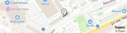 Алекса на карте Саратова