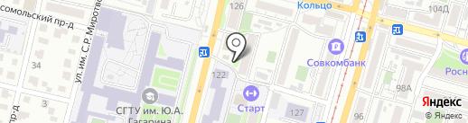 Помидор на карте Саратова