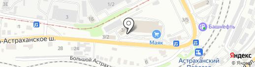 Pelican на карте Саратова