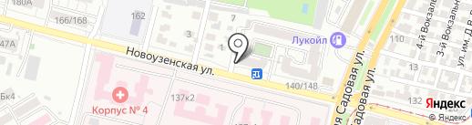 Магнат на карте Саратова
